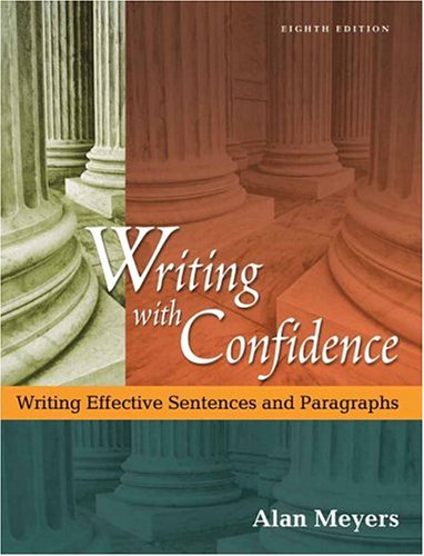 Writing with Confidence (8th Edition)