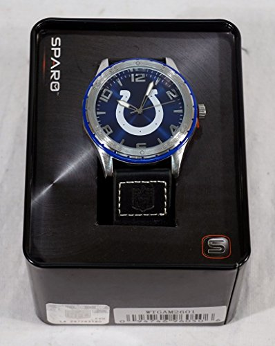 Rico Industries NFL Indianapolis Colts WatchWatch Gambit Style, Team Colors, One Size