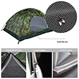 2 Man Dome Tent Outdoor Camping Camouflage UV Protection Waterproof 2 Person Tent