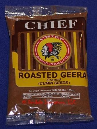 chief roasted geera 3oz by chief roasted geera amazon com