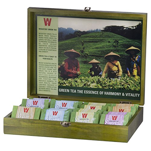 Wissotzky Wooden Tea Chests and Tea Box