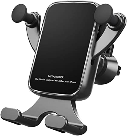 Dušial Mobile Phone Holder for Car Air Vent Universal Car Phone Clip Anti Skid Mobile Phone Clip Mount Smartphone Holder: Amazon.es: Hogar