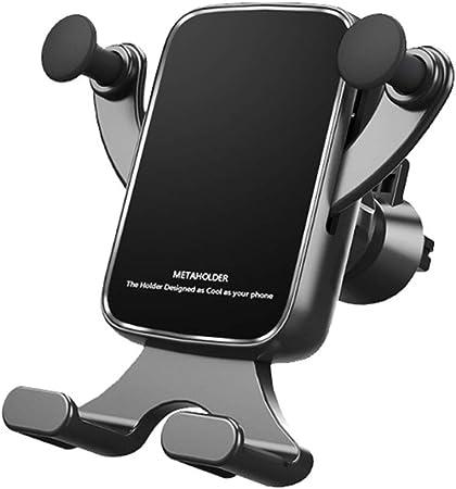 Dušial Mobile Phone Holder for Car Air Vent Universal Car Phone Clip Anti Skid Mobile Phone Clip Mount Smartphone Holder: Amazon.es: Hogar