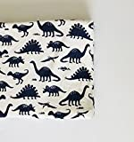 Changing Pad Cover - Navy Dinosaurs