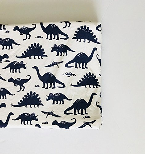 Changing Pad Cover - Navy Dinosaurs by Lullabies and Lollipops