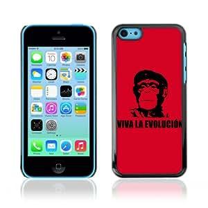 CaseCaptain Carcasa Funda Case - Apple iPhone 5C / Viva La Evolucion Evolution Che Chimp /