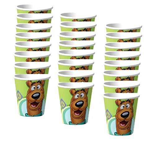 Scooby Doo Birthday Party Paper Cups - 24 Count