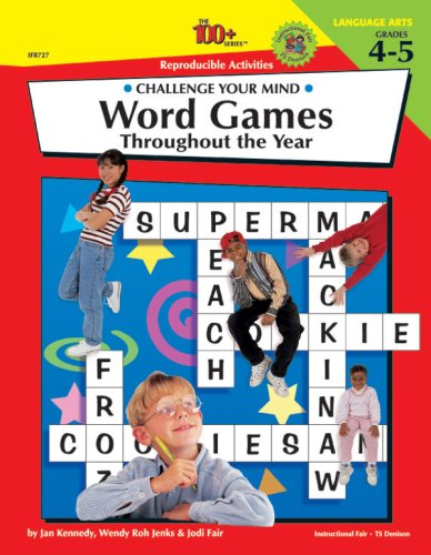 Amazon.com: Challenge Your Mind - Word Games - Grades 4 to 5 ...