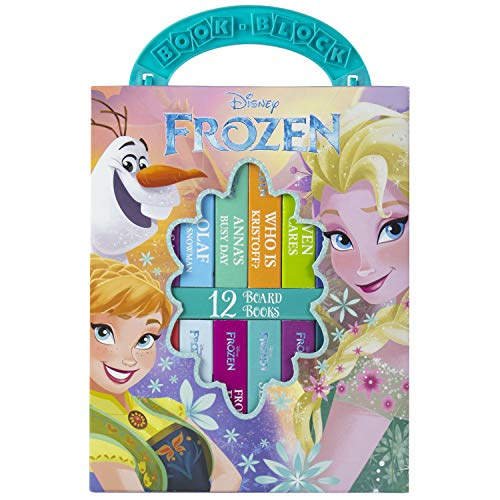 Disney - Frozen 2019 My First Library Board Book Block 12-Book Set - PI Kids