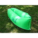 Fast Inflatable Hangout Air Sleep Hiking Camping Bed Beach Sofa Lounge Banana Sleeping Bags Banana Lazy Lay Bag,Lazy Sofa,Green