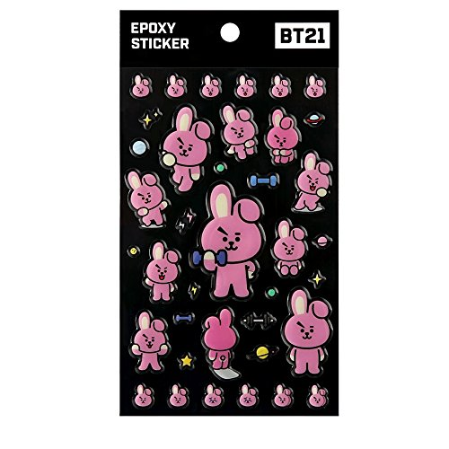 Jual Official BT21 X Monopoly Epoxy Sticker 319a52bbea02