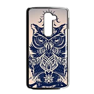 Canting_Good Cool Cute Owl Custom Case Cover Shell for LG G2 (Fit for AT&T)