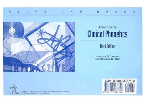 Clinical Phonetics
