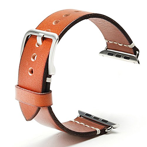 apple-watch-band-42mm-iwatch-band-strap-vintage-genuine-leather-replacement-wristband-bracelet-with-