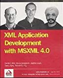 img - for XML Application Development with Msxml 4.0 book / textbook / text book