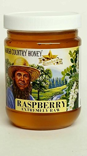 Amish Extremely Raw RASPBERRY Blossom Honey 1Lb