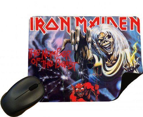 Eclipse Gift Ideas Iron Maiden Mouse Mat - Design 01 Mouse ()