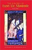 img - for The Surgery of Henri De Mondeville, Vol I book / textbook / text book