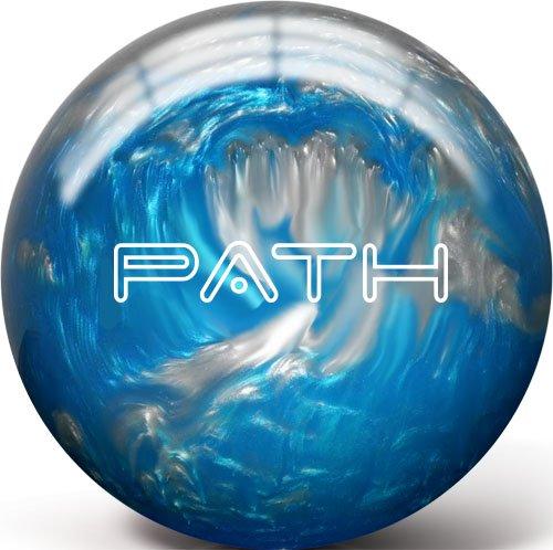 Pyramid Path Bowling Ball (Aqua/Silver, 10LB) (Best Polyester Bowling Ball)
