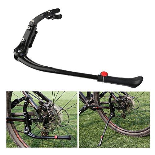 (FOXNOVO Adjustable Kickstand Kick Stand Mount for MTB Mountain Bicycle Cycling Fits 24