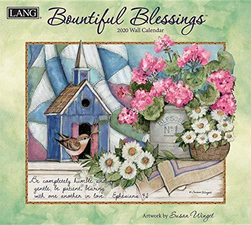 - Bountiful Blessings 2020 Calendar