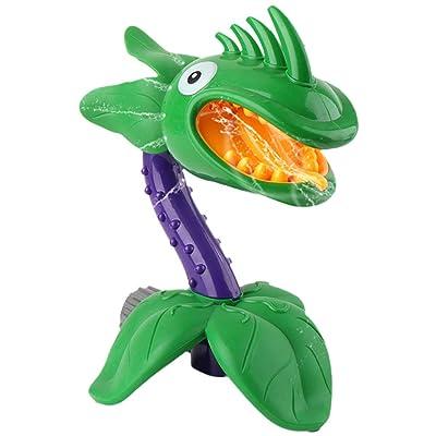 NUOBESTY Kids Bath Toys Cartoon Flower Toy Bathtub Shower Toy Sprinkler Splash Water Toy for Bathroom Pool Toddlers Children Gift Swimming: Toys & Games