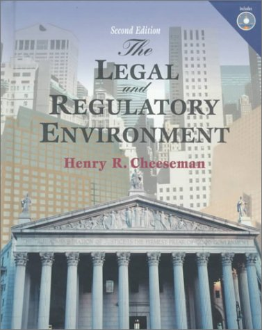 Legal and Regulatory Environment, The: Contemporary Perspectives in Business