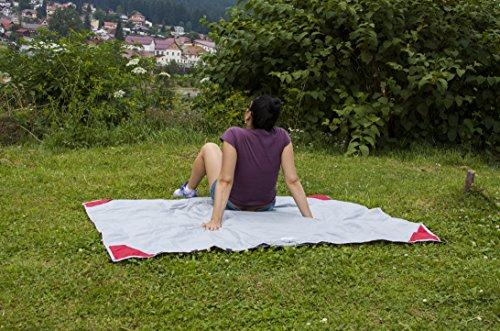Campers-Will-Pocket-Blanket--Multi-Purpose-Blanket--Portable-Easy-to-use-55-x-46-Ft--Premium-Waterproof-Outdoor-Blanket-Raincoat