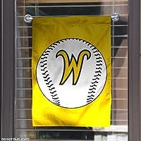 WSU Shockers Baseball Garden Flag and Yard Banner