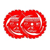 "Diablo 7?1/4"" x 24-Tooth PYR Ultimate Framing/Demolition Saw Blade (2-Pack)"