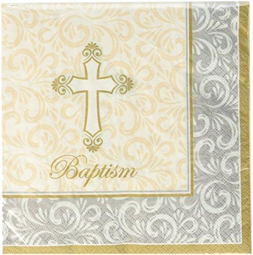 Kole Imports Baptism Divinity Lunch Napkins