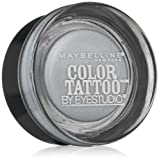 L Oreal Eye Cream Maybelline New York Eye Studio Color Tattoo Metal 24 Hour Cream Gel Eyeshadow, Silver Strike, 0.14 Ounce
