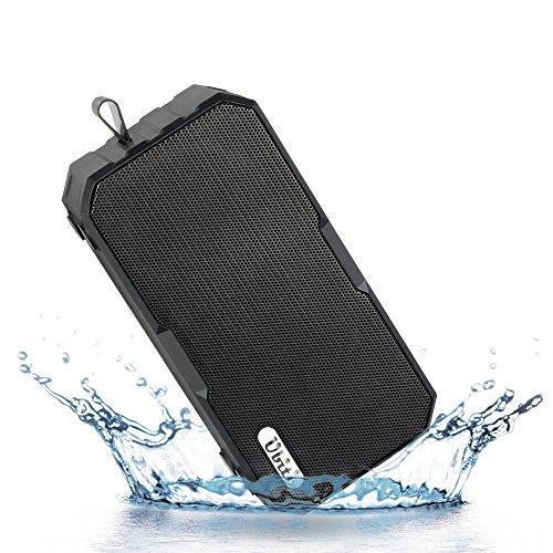 IP65 Waterproof Speaker,Ubit 4.0 Bluetooth Speakers With 2600mAh