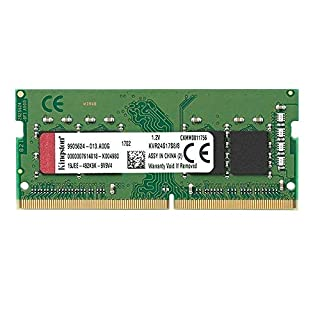 Kingston Technology ValueRAM 8GB 2400Mhz DDR4 Non-ECC CL17 SODIMM 1Rx8 (KVR24S17S8/8) (B01LW6HBSM) | Amazon Products