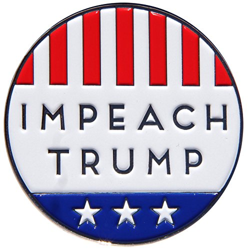 (Drumpf.WTF Impeach Trump Anti-Trump, Pro-America Political Button Style Enamel Pin)