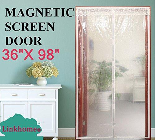 Transparent Magnetic Screen Door 36