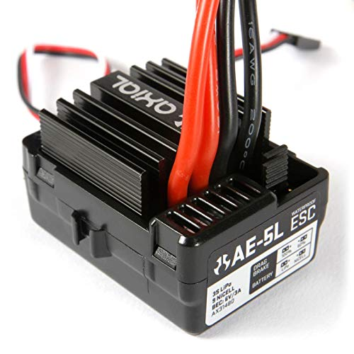 Axial AE-5L ESC with LED Port Light, AXIC1480