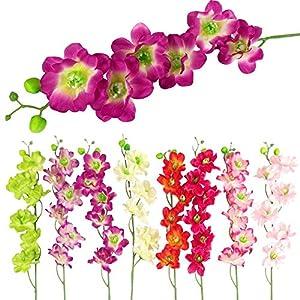 MARJON Flowers15x Azalea Orchid Sprays - Artificial Silk Flowers Wholesale Job Lot 56