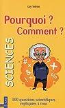 Les Sciences : Pourquoi ? Comment ? par Solenn