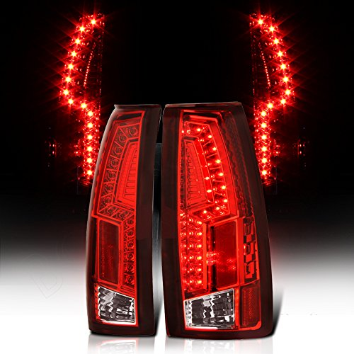 Tail Lamps 2000 Escalade - GMC Pickup 1500 2500 3500 Suburban LED Tail Light Rear Lamps Replacement