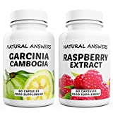 Garcinia Cambogia + Raspberry Ketones Pure Extract. High Strength Max Slim Duo 120 Max Strength Capsules. Quality Dietary Supplements for Weight Loss. Made in the UK