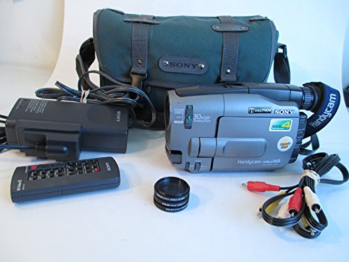 Sony Handycam CCD-TRV81 Hi8 S Video Camera Recorder Camcorder CCD Precision NTSC