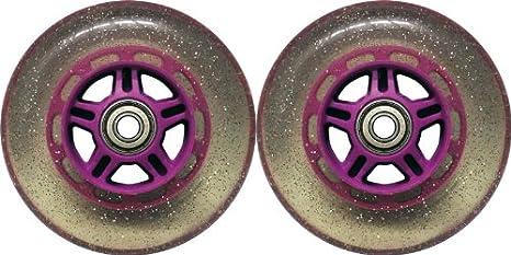 Amazon.com: Qty2 88 A de 100 mm ruedas para afeitar Kick ...