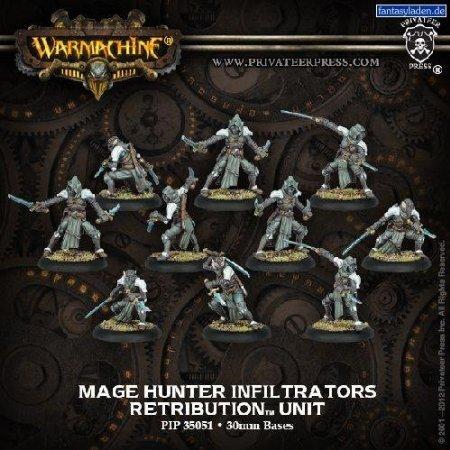 Mage Hunter Infiltrators Retribution Unit PIP35051 Warmachine