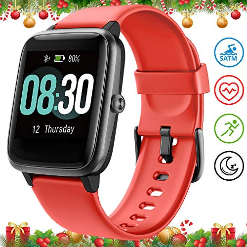 UMIDIGI Smartwatch Fitness Tracker Uwatch3, Armbanduhr Sportuhr Smart Watch für Damen Herren Kinder mit Herzfrequenz…