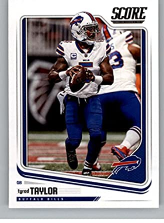 27fc9c9de61 Amazon.com  Football NFL 2018 Score  33 Tyrod Taylor Bills ...