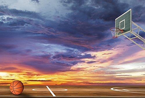 Yeele 10x8フィート バスケットボールコート背景 アウトドアマッチスポーツアリーナゲーム 写真背景 男の子 子供 ファン学生 男性 アスリート ポートレート 写真ブース ビデオ撮影 ビニール フォトコール スタジオ小道具   B07DC1NTG6
