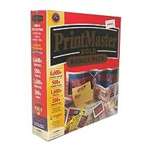 Print Master Gold Bonus Pack Version 4.0
