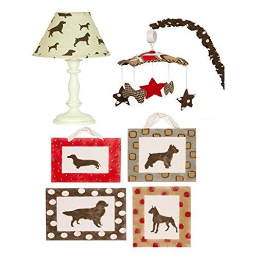 Cotton-Tale-Designs-Houndstooth-6-Piece-Nursery-Decor-Set
