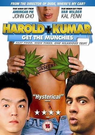 Harold And Kumar Get The Munchies Dvd Amazoncouk John Cho Kal